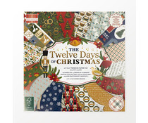 First Edition Twelve Days of Christmas 12x12 Inch Paper Pad (FEPAD242X21)