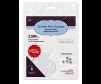 Scrapbook Adhesives 3D Foam Squares Micro White (2508 pcs) (01404-10)