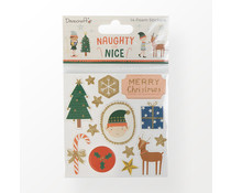 Dovecraft Naughty or Nice Foam Stickers (DCSTK122X21)