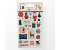 Dovecraft Naughty or Nice Puffy Stickers (DCSTK124X21)
