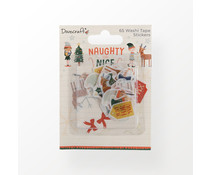 Dovecraft Naughty or Nice Washi Tape Stickers (DCSTK121X21)