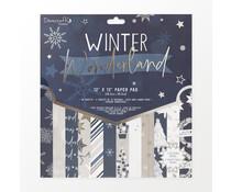 Dovecraft Winter Wonderland 12x12 Inch Paper Pad (DCPAP182X21)
