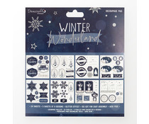 Dovecraft Winter Wonderland 8x8 Inch Decoupage Pad (DCDPG024X21)