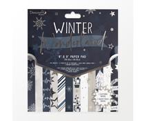 Dovecraft Winter Wonderland 8x8 Inch Paper Pad (DCDPG024X21)