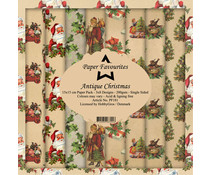 Paper Favourites Antique Christmas 6x6 Inch Paper Pack (PF181)