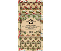 Paper Favourites Antique Christmas Slim Paper Pack (PFS027)