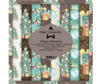 Paper Favourites Happy Christmas 6x6 Inch Paper Pack (PF184)