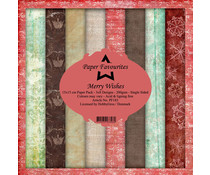 Paper Favourites Merry Wishes 6x6 Inch Paper Pack (PF183)