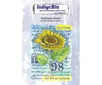 IndigoBlu Sunflower Bloom A6 Rubber Stamps (IND0866)