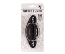 "Xcut 4cm Border Punch Hearts - 1 9/16"" (XCU 2571302)"