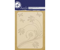Aurelie Butterfly Habitat Background Embossing Folder (AUEF1012)