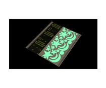 DuckTape Sheet Glow In The Dark 25,4 cm x 21 cm (101-11)