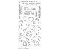 My Favorite Things Adorable Elephants Clear Stamps (BB-28)