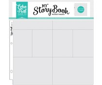 Echo Park 12x12 Inch Pocket Page - 4x6/3x4 Pockets (10 Sheets) (MSBPP1204)