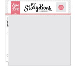 Echo Park 12x12 Inch Pocket Page (10 Sheets) (MSBPP1201)