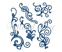 Tattered Lace Charming Flourishes (D1226)
