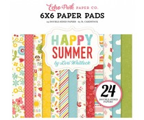 Echo Park Happy Summer 6x6 Inch Paper Pad (HS105023)
