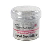 Papermania Embossing Powder (1oz) - Tinsel Snowflake (PMA 4021003)