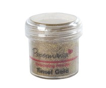 Papermania Embossing Powder (1oz) - Tinsel Gold (PMA 4021012)