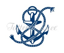 Tattered Lace Anchor (D1326)