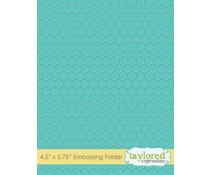 Taylored Expressions Honeycomb Embossing Folder (TEEF56)