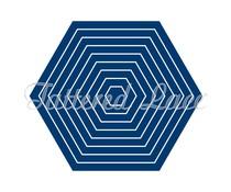Tattered Lace Mini Hexagons (ETL229)