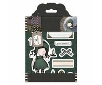 Gorjuss Rubber Stamps - Santoro Tweed - Nightlight (GOR 907119)