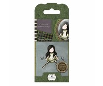 Gorjuss Collectable Mini Rubber Stamp No. 12 On Top Of The World (GOR 907312)