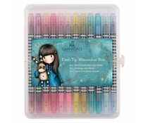 Gorjuss Watercolour Dual-tip Pens (12pk) - Santoro - Brights (GOR 851101)