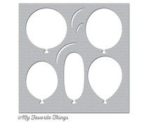 My Favorite Things Big Balloons Stencil (ST-97)