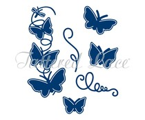 Tattered Lace Spring Into Summer Butterflies + Clear Stamps (ETL203)