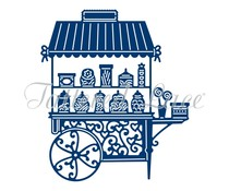 Tattered Lace Candy Cart (D1411)