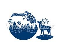 Tattered Lace Reindeer Scene (ETL222)