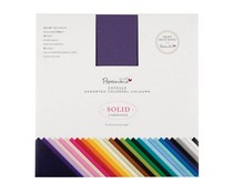 Papermania 12x12 Inch Solid Premium Cardstock Colossal (75pcs) (PMA 164400)