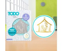 TODO Hot Foil Press Nativity Scene (20991)
