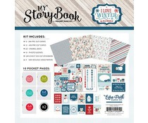 Echo Park I Love Winter Pocket Page Kit (ILW115039)