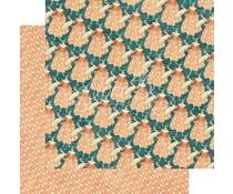 Graphic 45 Café Parisian Crêpe Suzette 12x12 Inch 25 pc. (4501431)