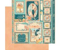 Graphic 45 Cremé de la Cremé 12x12 Inch 25 pc. (4501427)