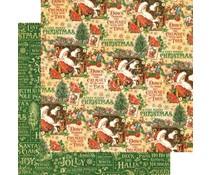 Graphic 45 Santa's Workshop 12x12 Inch 25 pc. (4501399)