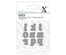 Xcut Mini Dies (9pcs) - Serif Alpha 2 (XCU 503646)
