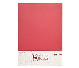 Dovecraft Christmas Basics A4 Card Pack (DCCRD004X16)