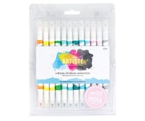 Docrafts Artiste Brush Markers (12pk) Pastel (DOA 851102)