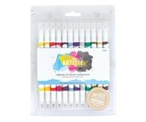 Docrafts Artiste Brush Markers (12pk) Vintage (DOA 851101)