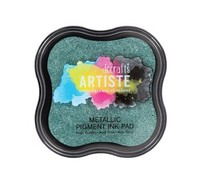 Docrafts Metallic Pigment Ink Pad - Evergreen (DOA 550122)