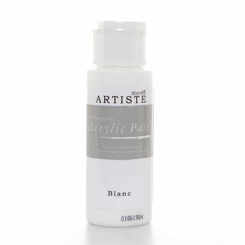 Docrafts Acrylic Paint 2oz Blanc Doa 763260 Craftlines