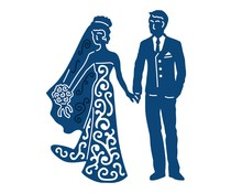 Tattered Lace Bride & Groom (ACD236)