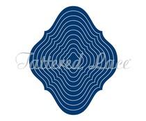 Tattered Lace Curved Edge Diamonds (ETL355)