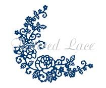 Tattered Lace Delicate Rose Corner (D1333)