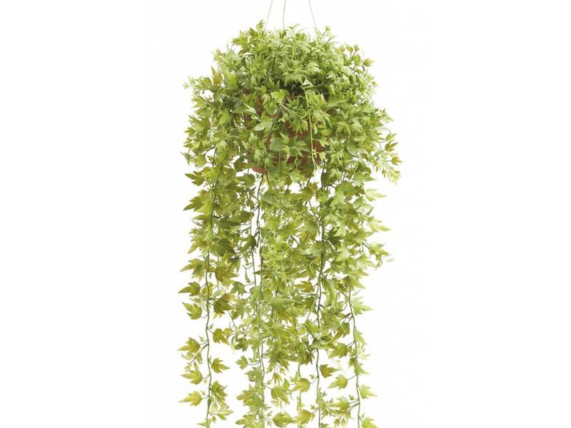 Kunst hangplant klimop 50 cm in pot
