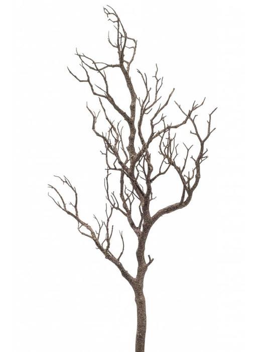 Kunst decoratie tak naturel 90 cm